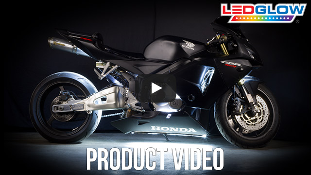 Classic White LED Motorcycle Lights Video