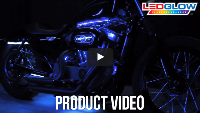 LEDGlow Dual Zone LED Motorcycle Lights Video