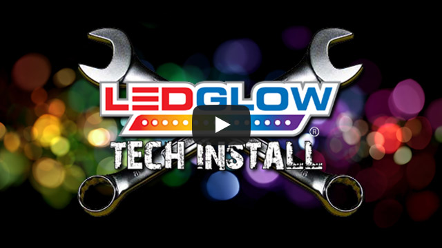 LEDGlow Advanced Million Color LED Motorcycle Lights Cruiser Installation