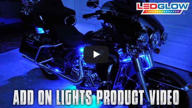 LEDGlow's Add On Motorcycle LED Lights Video