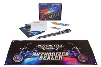 LEDGlow Motorcycle LED Lights Dealer Welcome Kit