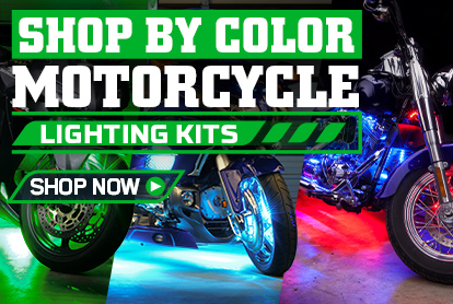 Shop Motorcycle LED Lights By Colors